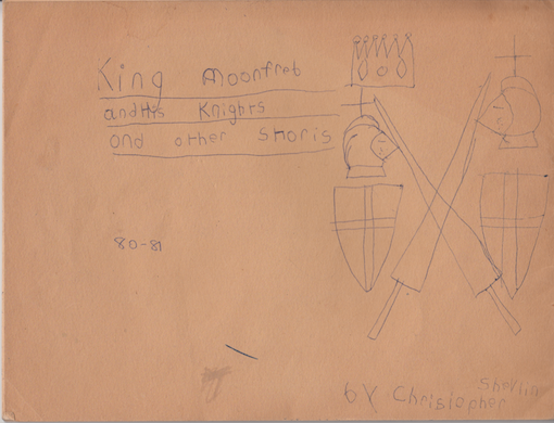 The cover of King Moonfred and his Knights