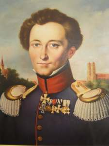 A portrait of Clausewitz